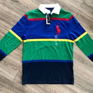 New Polo Ralph Lauren Men's Rugby Shirt